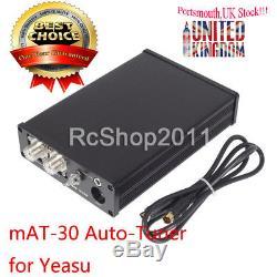120W mAT-30 HF Auto-tuner Auto Tuner Automatic Antenna Ham Radio for Yeasu UK