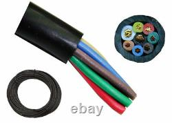 125' High Quality 8 Conductor Rotor Wire Antenna Rotator Cable Eight Wire FS