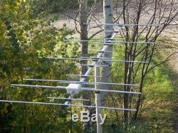 17 el dual band YAGI for 2m and 70cm (144-146 and 430-440 MHz) Socket-PL239/UC1