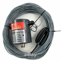 1KW Watt 32m XL Multiband Dipol endgespeist 19 Balun EZwire 10m 160m L32M