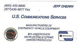 2016 Chevy Tahoe Covert Antenna VHF UHF 800 Motorola APX 7550