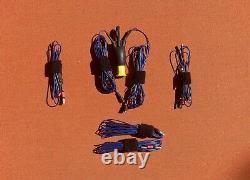 20/30/40M Linked Dipole Bundle With Choke Portable/Stealth/QRP HF Ham Radio