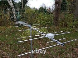 24 el dual band YAGI for 2m and 70cm (144-146 and 430-440 MHz) SO239 socket