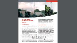 25FT 7.7Meters Tactical Mobile Antenna Mast Larimart SA105/M8 w Extra