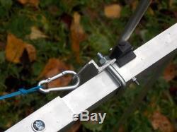 29 el dual band YAGI for 2m and 70cm (144-146 and 430-440 MHz) Socket UC1