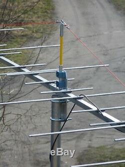 29 el dual band YAGI for 2m and 70cm (144,180-145,600, 432 433,400 MHz) uc1