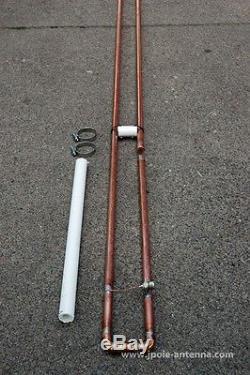 2 Meter VHF SLIM JIM amateur ham radio J-Pole base antenna