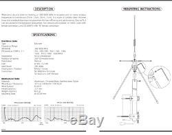 300-3000mhz Scanner Discone Antenna Sd-3000n Sirio Italy