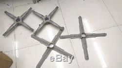 4 Cubex Quad HF Antenna Spider arms element holders for 2 boom Vintage good