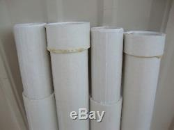 4' White Fiberglass Antenna Portable Tower Mast Sections Unused Lot Of 12