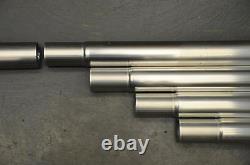 4 x 5 Foot (2 inch Dia) Aluminium slot in mast set- 4 x 5 ft sections-HEAVY DUTY