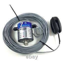 500 Watt 32m XL Multiband Dipol endgespeist 19 Balun EZwire 10m 160m L32M