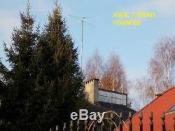 5 BAND HF TWIN-WIRE COBWEB ANTENNA 14,18, 21, 24, 28, 144 MHz