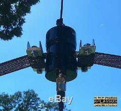 60 Meter K5WZ Horse Fence HF Dipole Antenna / 6m-60m