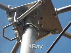 7 BAND HF TWIN WIRE COBWEB ANTENNA CUSTOM BUILT 20.17.15.12.10.6.4 Mtr 600W