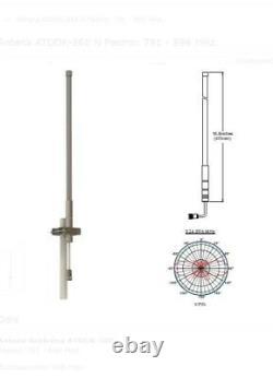 868Mhz LoRa antenna SMA long range outdoor use HNT 9dBi Helium Bobcat Nebra RAK