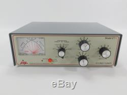 AEA ET-1 Econo-Tuner Ham Radio Antenna Tuner (great shape)
