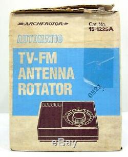 ARCHEROTATOR TV-FM ANTENNA ROTATOR 15-1225 A New in Box
