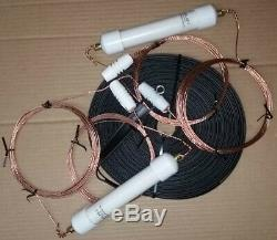 AS-2 LIMITED SPACE HAM ANTENNA WithLADDER LINE! 160 6 METERS! NEW! Spi-Ro MFG