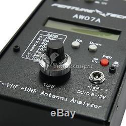AW07A HF/VHF/UHF 160M Impedance SWR Antenna Analyzer F Ham Radio