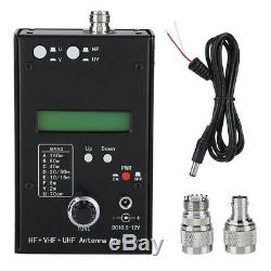 AW07A HF + VHF + UHF 160M Impedance SWR Antenna Analyzer For Ham Radio L/ C
