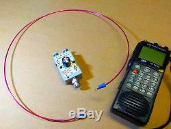 Active HF VHF Loop Antenna for Radio Scanner Receiver icom Yaesu AOR