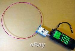 VHF Loop Antenna for Radio Scanner Receiver icom Yaesu AOR Kenwood Active HF