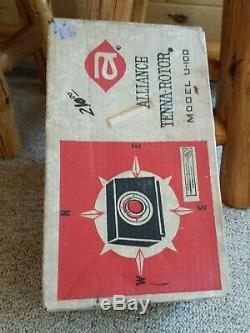 Alliance Tenna Rotor U-100 Antenna Rotator Ham CB TV FM Amateur Vintage 1977