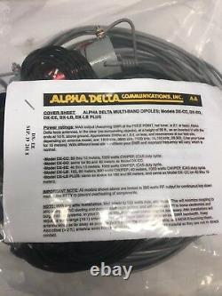 Alpha Delta Model DX-EE Parallel Dipole Wire Antenna 40/20/15/10. Free S/H