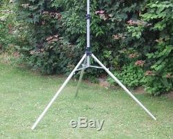 Alu Antennenmast Teleskopmast INKLUSIVE STATIV Portable Amateurfunk NEU! 6 Meter