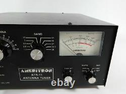 Ameritron ATR-15 1.5KW Ham Radio Manual Antenna Tuner (works great)