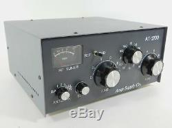 Amp Supply Co AT-1200 1.2KW PEP Ham Radio Antenna Tuner (works great) SN 2164