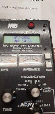 Antenna Analyzer MFJ-259C HAM Radio