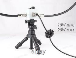 BH5HDE QRP Magnetic loop antenna short wave ANT HF radio walkie talkie radio