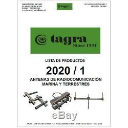 BT-101 BAILERINA Antenas Tagra OMNI BASE CB 27 MHz