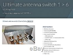 Bundle Remote controled relay antennas switch + controler 16 QRO HF/VHF