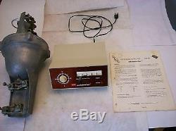 CDE AR-33 TV, CB, Ham Antenna Rotor, Control Box, Clamps