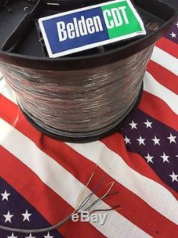 CDE CDR HYGAIN ROTOR BELDEN CABLE ANTENNA HAM ROTATOR 8 WIRE 100 Foot 18GA