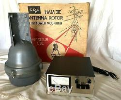 CDE Ham Radio III Antenna Rotor System Tower With Direction Control CD-44