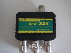 COMET CFX-324B 2M/220/70cm HAM RADIO TRIPLEXER W 3 SO239 AUTHORIZED DEALER F/S