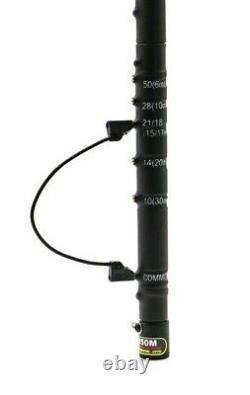 COMET HFJ-350M HF Antenne, Teleskopantenne, Multiband 1.8 MHz bis 50 MHz