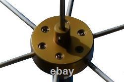 Chameleon Antenna CHA-TACHAT-S Spoke Version Capacitance Hat for HF Ham Sticks