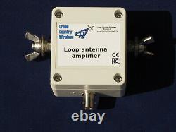 Cross Country Wireless Loop Antenna Amplifier + for making HF loop antennas