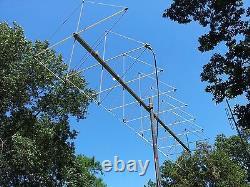 Cubical Quad Antenna for 2 meter 144/148 mhz. 8 ELEMENT