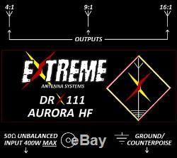 DRX111 Aurora HF 80m-6m Portable Antenna System