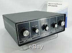 Dentron MT-2000A Ham Radio Antenna Tuner 3KW PEP with Original Box + Manual