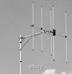 Diamond Antenna A144S5 2m 5 Element Base Station Yagi Beam with UHF Connector