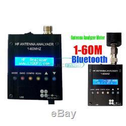 Digital MR300 Bluetooth Shortwave Antenna Analyzer Meter Tester 1-60M Ham Radio