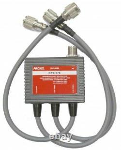 Dpx-570 Triexer Hf/ Vhf / Uhf / 1.8 -60 / 110 160 / 350 570 Mhz Con Cavi