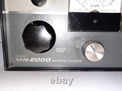 Drake MN-2000 2000KW RF Antenna Tuner VSWR TESTED WORKING USED HAM RADIO